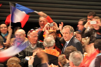 François Bayrou - François Bayrou at a meeting in Marseille