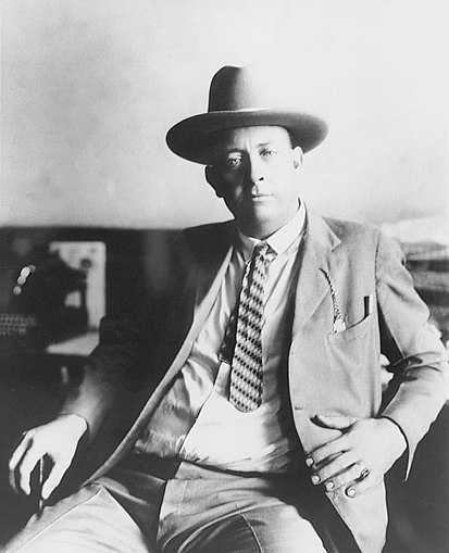 Former Texas Ranger Frank Hamer, the Barrow Gang's relentless shadow after the notorious Eastham prison breakout FrankHamerEarly1920s.jpg