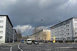 Miquelallee in Frankfurt am Main