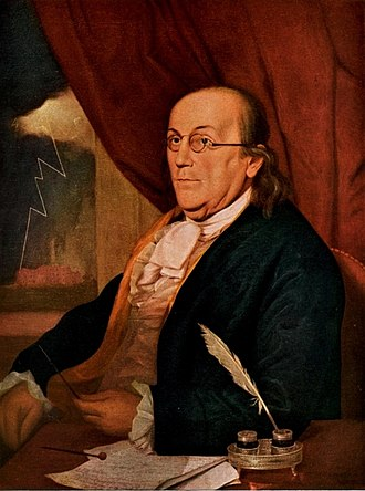 Grand Lodge of Pennsylvania - Benjamin Franklin, a Founding Father of the United States who played a leading role in the American Revolution, was an early Grand Master of Pennsylvania Freemasons.