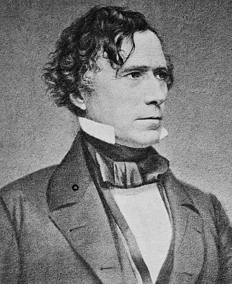 1864 Democratic National Convention - Image: Franklin Pierce Cropped