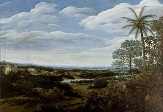 Landscape with a Boa