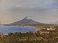 Franz Ludwig Catel - The Gulf of Naples with Vesuvius - KMS1088 - Statens Museum for Kunst.jpg