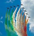 Frecce Tricolori NL Air Force Days (9288702711).jpg