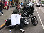 Biker in San Francisco
