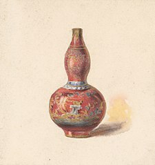 Vase with Red Base