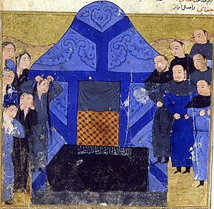Chagatai Khan - The funeral of Chagatai Khan.