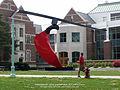 Funambulist, 2010, steel, 30'h x40'w x15'd, Michigan State University, Lansing, MI.jpg