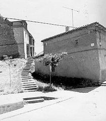 Fundación Joaquín Díaz - Calle con escaleras - Castroponce de Valderaduey (Valladolid).jpg