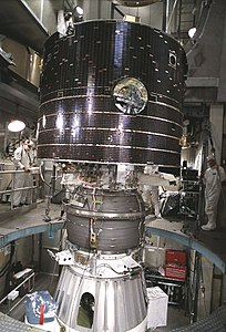 GEOTAIL on the third stage of its Delta rocket.jpg
