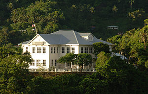 National Register of Historic Places listings in American Samoa - Image: GOVERNMENT HOUSE OR GOVERNOR'S MANSION