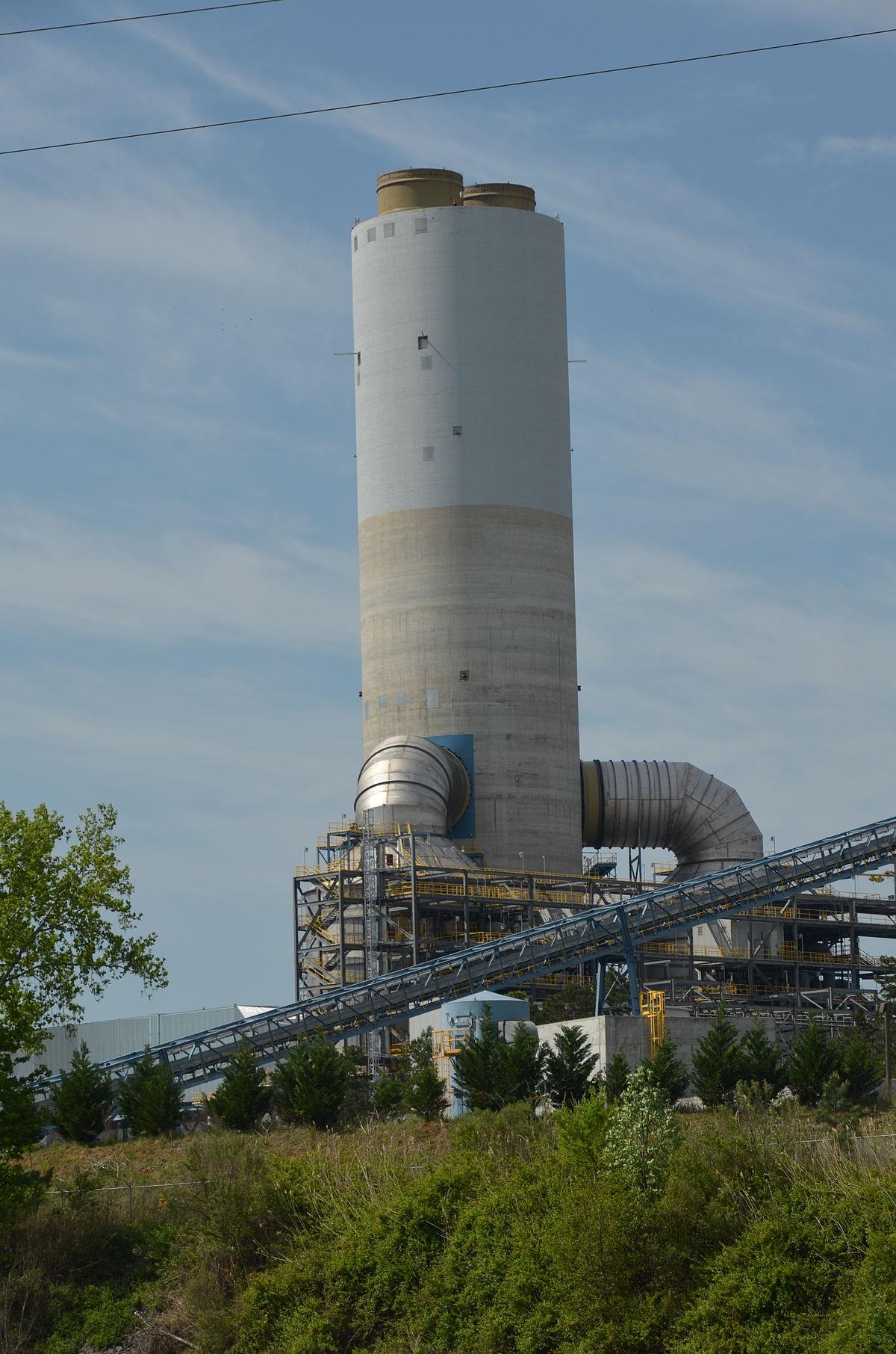 Px G G Allen Steam Plant C Scrubber