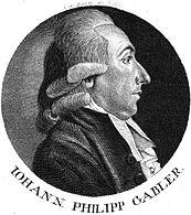 Image result for Johann P. Gabler