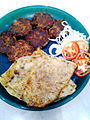 Galawati kabab parantha.jpg