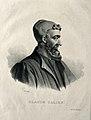 Galen. Lithograph by P. R. Vignéron. Wellcome V0002113.jpg