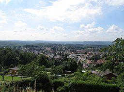 Blick vom Galgenberg in Spiesen-Elversberg, Saarland
