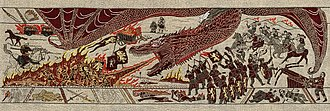 Game of Thrones Tapestry - Season 7 Episode 4 – woven / Embroidered scan