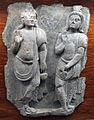 Gandhara, due giovani asceti.JPG
