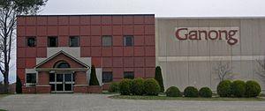 St. Stephen, New Brunswick - The new Ganong chocolate factory.