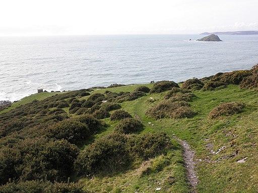 Gara Point, on Wembury Bay - geograph.org.uk - 1730384