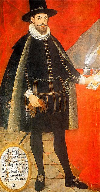 García Hurtado de Mendoza, 5th Marquis of Cañete - Image: Garcia Hurtado de Mendoza 2