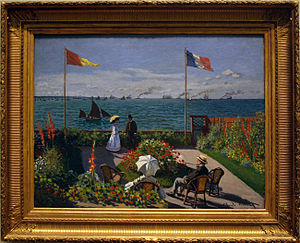 Garden at Sainte-Adresse.JPG