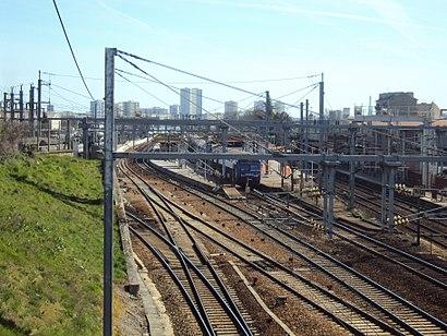 Comment aller à Gare D'Argenteuil en transport en commun - A propos de cet endroit