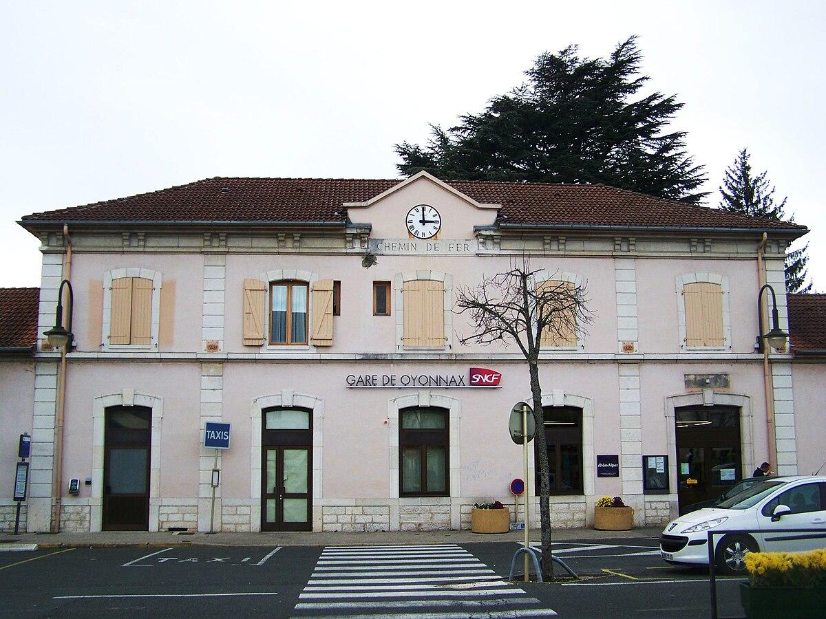 Gare D Oyonnax Wikip 233 Dia