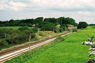 Garstang and Knot-End Railway - Image: Garstang & Knot End Railway junction 239 8