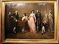 Gaspare landi, la famiglia del marchese giambattista landi con autoritratto (coll. privata).JPG