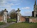 Gates, Honiley churchyard - geograph.org.uk - 1770911.jpg