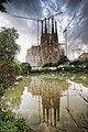 Gaudis Sagrada Familia, reflection.jpg