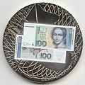 Gedenkprägung - Abschied einer Währung - Clara Schumann auf 100 DM Banknote, 1989-2001 a.jpg