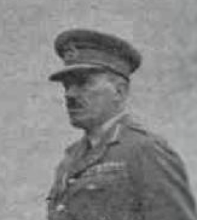 Frank Keith Simmons British Army general
