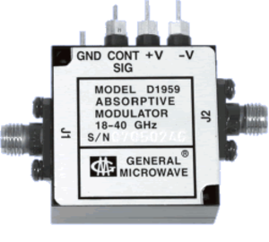 PIN diode - An RF Microwave PIN diode Attenuator.