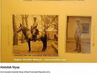Islamic rebellion in Xinjiang (1937) - Gen. Abdul Niyaz.