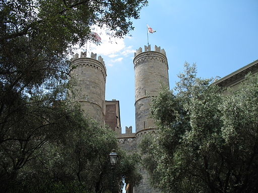 Genova-Porta Soprana-Due Torri-IMG 2819