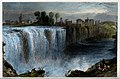 Geography; Genesse Falls, Rochester, seen from a distance. C Wellcome V0025158.jpg