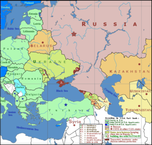 Post-Soviet conflicts - Geopolitics of the Crimean autonomous Republic, March 2014.