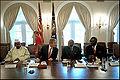 George Bush with African leaders June 28, 2001.jpg