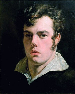 George Lance - Self portrait (c. 1830)