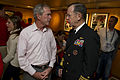 George W. Bush & Michael Mullen at 2010 World Series Game 4.jpg