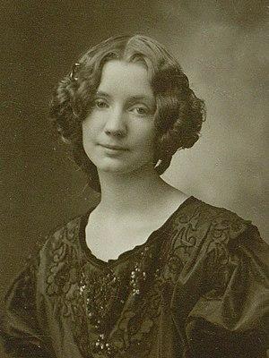 Gerda Wegener - Wegener in 1904