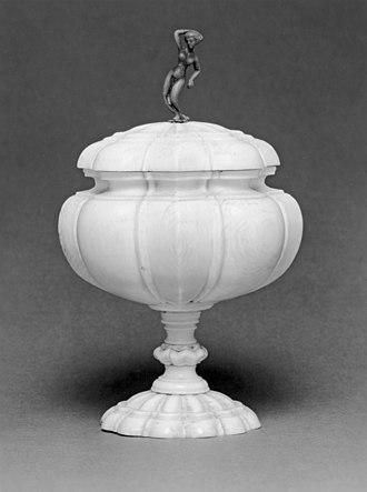 Sophie Magdalene of Brandenburg-Kulmbach - Image: German Turned Cup Walters 71339