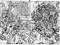 German mercenary engineer Paul Dolnstein's drawing of a Swedish peasant host fighting German mercenaries in 1501.jpg