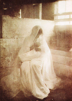 """""""The Manger"""", photograph by Gertrude..."""