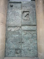 Gethsemane Door at the Passion Facade of the Sagrada Família.JPG