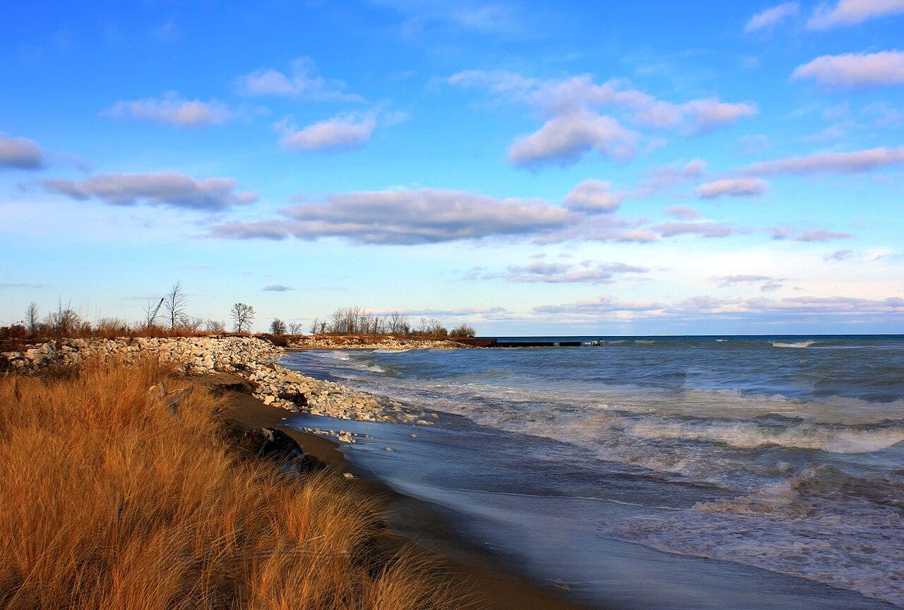1280px Gfp illinois beach state park shoreline of lake michigan