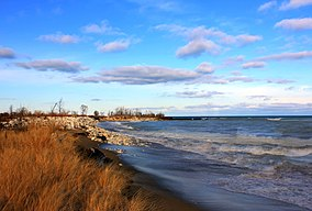 284px Gfp illinois beach state park shoreline of lake michigan
