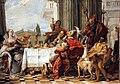 Giambattista tiepolo, il banchetto di cleopatra, 1742-43, 05.JPG